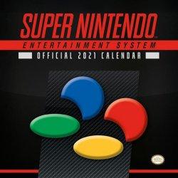 Super Nintendo Calendar 2021