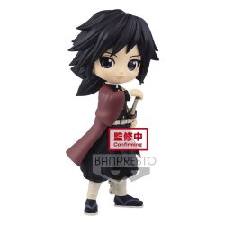 Demon Slayer Kimetsu no Yaiba Q Posket Mini Figure Giyu Tomioka Ver. A 14 cm