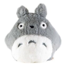 My Neighbor Totoro Nakayoshi Plush Figure Grey Totoro 20 cm