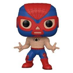 Marvel Luchadores POP! Vinyl Figure Spider-Man 9 cm