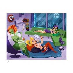 DC Comics Art Print Sleepover Sirens 46 x 61 cm - unframed