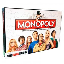 The Big Bang Theory spanish Monopoly game