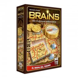 BRAINS treasure map board game