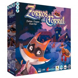 Foxes to the board game Corral