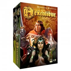 Hexcalibur board game