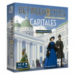 Between Two Cities Between two capital cities board game