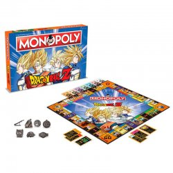 Dragon Ball Z game Monopoly
