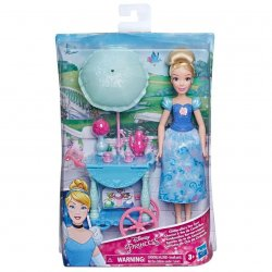 Disney Princess Cinderella Cinderella Doll s Tea Cart 28cm