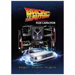 Back to the Future Powered by Flux Capacitor puzzle 1000pcs