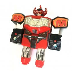 "Power Rangers: Mighty Morphin – 9"" Dinozord Megazord Main Body"