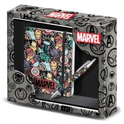 Marvel Trend diary + Pen Set