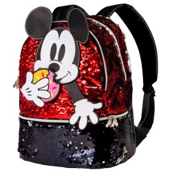 Disney Mickey Donut sequins backpack 32cm