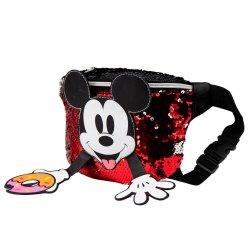 Disney Mickey Donut sequins belt puch