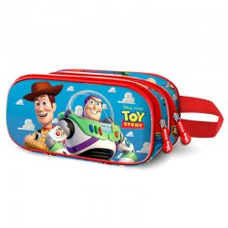 Disney Toy Story Buzz and Woody 3D double pencil case