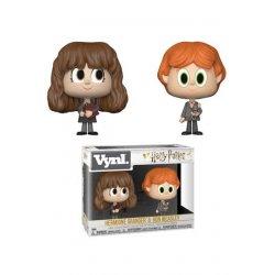 Harry Potter VYNL Vinyl Figures 2-Pack Ron & Hermione 10 cm