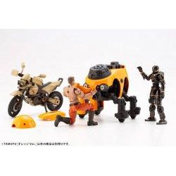 Maruttoys Plastic Model Kit 1/12 Tamotu (Orange Version) 8 cm