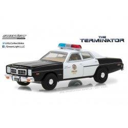Terminator Diecast Model 1/64 1977 Dodge Monaco Metropolitan Police