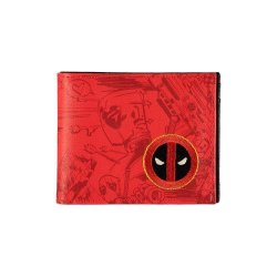 Deadpool Bifold Wallet Grafitti