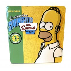 - The Simpsons Special Edition Greetings From Springfield Collectors Tin Series 1