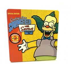- The Simpsons Special Edition Greetings From Springfield Collectors Tin Series 2