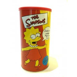 - The Simpsons Double Chocolate Chip Cookies Tin Lisa Simpson (Unopened)