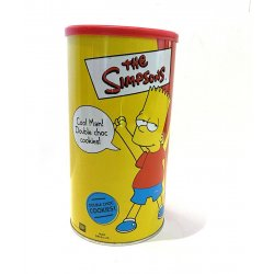 - The Simpsons Double Chocolate Chip Cookies Tin Homer Simpson (Unopened)