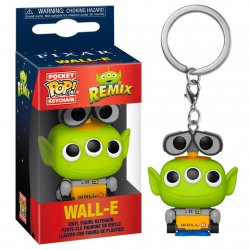 Pocket Alien POP keychain Disney Pixar Wall-E Remix