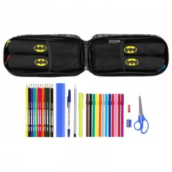 DC Comics Batman Night 4 pencil case filled rucksack