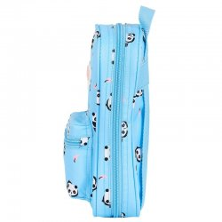 Moos Panda 4 pencil case filled rucksack