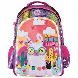 Called adaptive LED sequins backpack 45cm