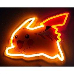 Pokemon Pikachu mural neon lamp