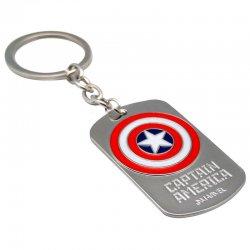 Marvel Captain America 3D keyring