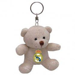 Real Madrid Bear plush keychain 8cm