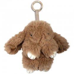 Brown Rabbit plush key chain