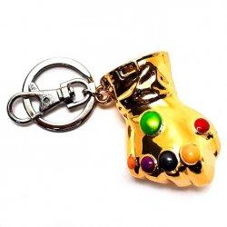Marvel Infinity Gauntlet metal keychain