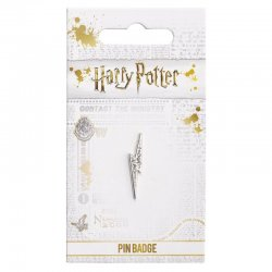 Harry Potter Lightning Bolt pin badge with crystals
