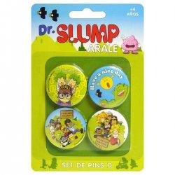 Dr. Slump 4 badges