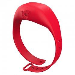 Red Adjustable Gel Dispenser Children Bracelet