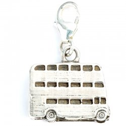 Harry Potter Knight Bus Silver Charm