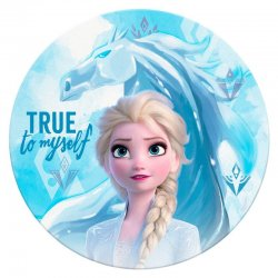 Disney Frozen 2 microfiber beach towel round