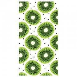 Kiwis microfiber beach towel