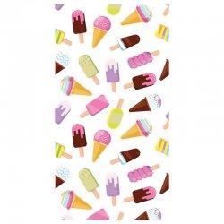 Ice Creams microfiber beach towel