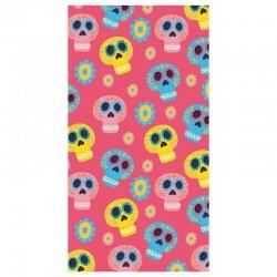 Mexican skulls microfiber beach towel