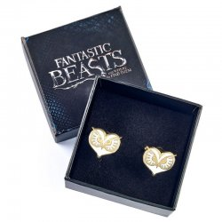 Fantastic Beasts Owl Face cufflinks