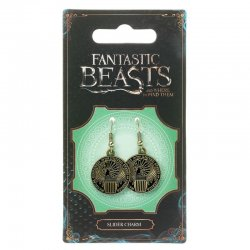 Fantastic Beasts Magical Congress charm earrings