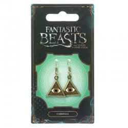 Fantastic Beasts Triangle Eye earrings