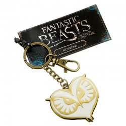 Fantastic Beasts Owl Face keyring