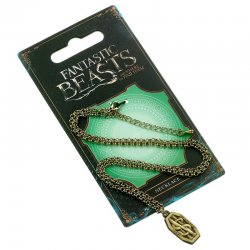 Fantastic Beasts Newt Scamander Logo necklace