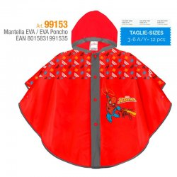 Marvel Spider-Man EVA Raincoat