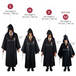 Harry Potter Gryffindor robe wizard